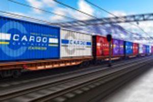 transporte de mercancías por tren