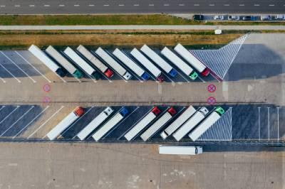 Controll de un envío de mercancías internacional por carretera